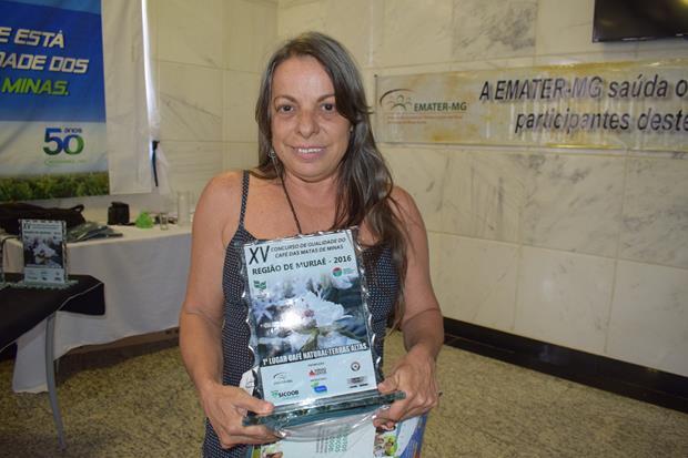 Glória Maria Batista Nunes de Souza – 1º Lugar Terras Altas – Carangola